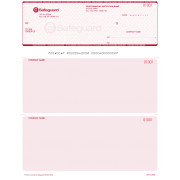 Safeguard Secure Laser Cheques - 1 Colour (red)