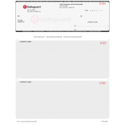 Safeguard Secure Laser Cheques - 2 Colours (black primary)